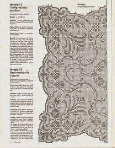 Kira scheme crochet: Scheme crochet no. 397