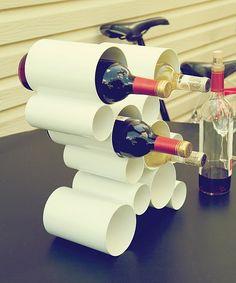 Wine reack 'Cru' by Umbra.