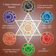 Ceremonial Magick: Hexagram and sigils. Occult Symbols, Magic Symbols, Occult Art, Ancient Symbols, Simbolos Tattoo, Yi King, Seal Of Solomon, Sacred Geometry Symbols, Talisman