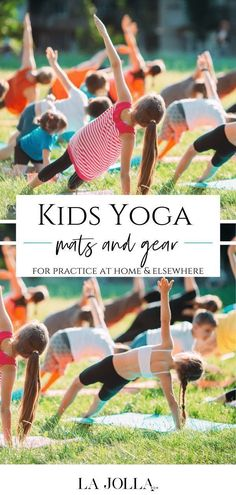 Kids yoga has many benefits! Get them started practicing with you or on their own with this helpful and fun gear like kids yoga mats, books, and more. Check it out here at La Jolla Mom Iyengar Yoga, Ashtanga Yoga, Vinyasa Yoga, Yoga For Kids, Yoga For Men, Pilates Reformer Exercises, Pilates Yoga, Yoga Handstand, Restorative Yoga