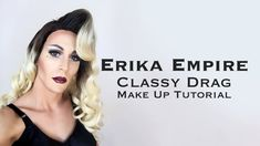 Watch the transformation!  #drag # dragqueen #makeup