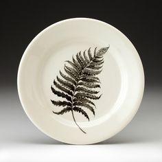 """6"""" Bread Plate: Wood Fern"""