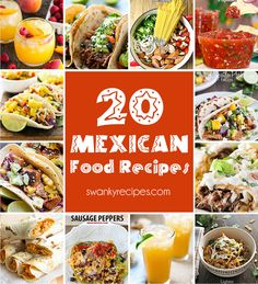 20 Mexican Food Favo