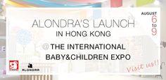 """Estamos felices de anunciaros que Alondra, por primera vez en su historia, va a estar presente en una de las ferias de puericultura más importantes de toda China: """"The International Baby/ Children Products Expo"""", que se celebrará mañana día 6 y hasta el próximo 9 de agosto en Hong Kong."""