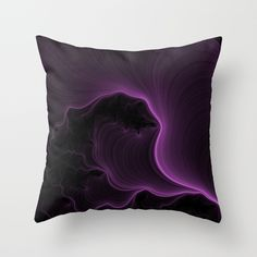 Ultra Violet Throw Pillow by Eric Rasmussen | Society6