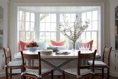 breakfast nook | House of Turquoise: Kerry Hanson Design