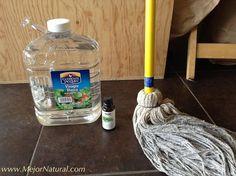 Mejora la calidad del aire dentro de tu casa al eliminar el uso de productos químicos en la limpieza. Utiliza alternativas naturales. Para limpiar el piso de t