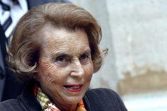 Liliane Bettencourt MASK OF MANY FACES