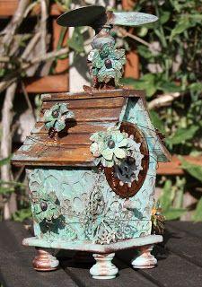 Carol Fox - WeLcOmE 2 mY wOrLd: Steampunk Birdhouse