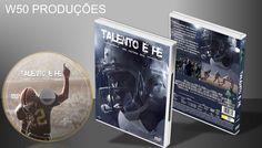 Talento É Fé (capa 1) - ➨ Vitrine - Galeria De Capas - MundoNet | Capas & Labels Customizados