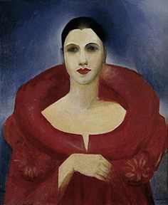 Tarsila do Amaral - Auto-Retrato (Manteau Rouge), 1923