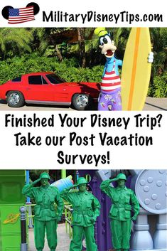 Post Disney Vacation Surveys for Disney World, Shades of Green, Mickey's Not-So-Scary Halloween Party and/or Mickey's Very Merry Christmas Party Disney Tips, Disney Parks, Military Disney Tickets, Shades Of Green Disney, Scary Halloween, Halloween Party, Disney Theme Park Tickets, Mickey's Very Merry Christmas