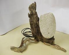LAMPADA ARTIGIANALE LEGNO DI MARE | eBay