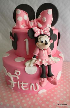 Minnie Mouse cake/taart