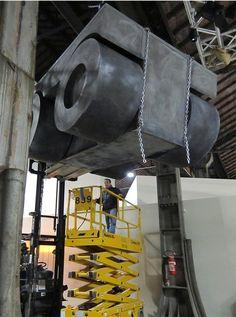 """L'alcòva d'acciaio, 2011 """"Acciaio CorTen"""" 210 × 300 × 160 cm"""