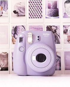 Mauve Polaroid camera - Instax Camera - ideas of Instax Camera. Trending Instax Camera for sales. Camera Png, Polaroid Camera Instax, Digital Camera, Camera Gear, Camera Hacks, Polaroid Camera Colors, Vintage Polaroid Camera, Mini Polaroid, Fuji Camera