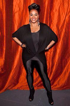 Jill Scott Weight Loss Jill Scott Weight Loss - Essence Jill Scott weight loss looks fabulous as you can tell Jill Scott, Curvy Fashion, Plus Size Fashion, Women's Fashion, Black Girls, All Black, Plus Size Beauty, Leggings, Beautiful Black Women