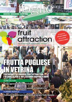 FOGLIE n.18/2016  AGRICOLTURA AGROALIMENTARE TURISMO RURALE