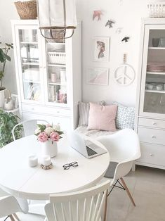 Liatorp, Feng Shui, Boho Deco, Shabby Chic Bedrooms, Ikea, French Farmhouse, French Country, House Colors, Small Spaces
