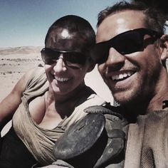Dayna Grant & Jacob Tomuri, Stunt Doubles of Charlize Theron & Tom Hardy in Mad Max Fury Road