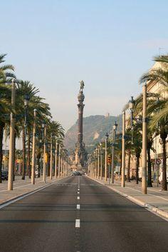 Columbus Monument- Barcelona, Spain