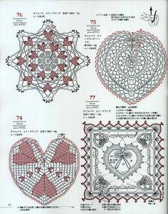 «Asahi Original - Crochet Heart Pattern».. Обсуждение на LiveInternet - Российский Сервис Онлайн-Дневников