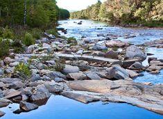 Carrabasset River  The Carrabassett River runs through the valley from Kingfield through Stratton, Maine.