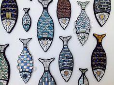 Angela Ibbs Mosaic Fish