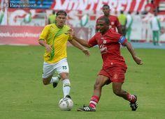América de Cali terminó su participación en el Torneo Postobón II, con una victoria 2-1 en el Pascual Guerrero ante el Atlético Bucaramanga.