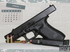 Calendar 2014 April Calendar 2014, Hand Guns, Firearms, Pistols
