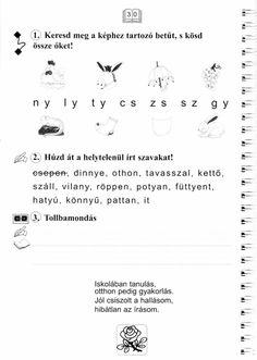 Helyesírás Firka Manóval Minden, Math Equations, School, Books, Logo, Libros, Logos, Book, Book Illustrations