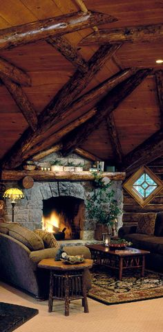 Jetsetter Daily Moment of Zen: Whiteface Lodge in Lake Placid, New York Style At Home, Winter Lodge, Cozy Winter, Winter Holiday, Cabin Interior Design, Interior Ideas, Design Homes, Estilo Interior, Cabin Interiors