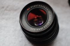 Carl-Zeiss-Jena-Flektogon-35mm-F2-4-MC-Lens-M42-screw-fit Vintage lens for video
