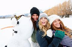 Do you want to build a snowman? #ROXYsnow