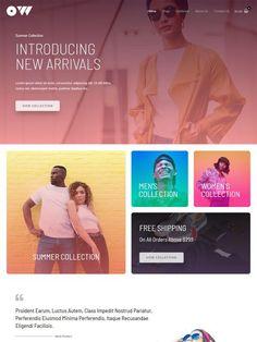 Men's Collection, Summer Collection, E Commerce, Website, Lorem Ipsum, Digital Marketing, Dan, Portugal, Women