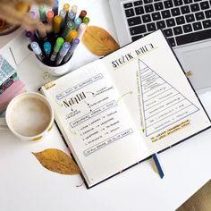 Pretty Notes, Diy Notebook, Give It To Me, Bullet Journal, Study, Motivation, School, Inspiration, Bujo