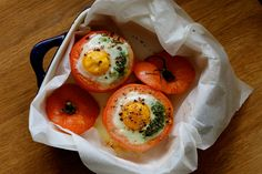Tomato, Pesto and Goats Cheese Baked Egg - The Holistic Ingredient.