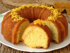How to Make Lemon Orange Cake? Cafe Pasta, Dinner Rolls Easy, Pasta Cake, Cotton Cake, Turkish Kitchen, Best Cake Recipes, Food Pictures, Food And Drink, Cooking Recipes