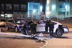 Image result for police car crash pictures