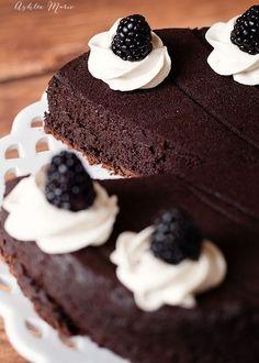 The Best Flourless Chocolate Cake Ashlee Marie
