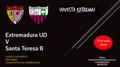 PRETEMPORADA   Extremadura UD v Santa Teresa B  Jueves, 10 de agosto a las 20:30 horas en el polideportivo de Almendralejo  #somoseud #fútbol #femenino