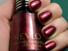 What's up my dears? Sometime, there comes a red polish that is so stunning, so amazing that it stands on it's own. In this case, deserves i. Red Polish, Nail Polish, Revlon, Nails, Beauty, Beleza, Ongles, Nail Polishes, Manicures