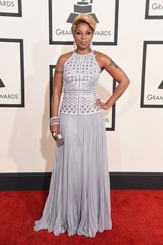 57th GRAMMYs Red Carpet (2 Of 2) - Mary J. Blige - Mary J. Blige arrives at the 57th Annual GRAMMY Awards on Feb. 8 in Los Angeles