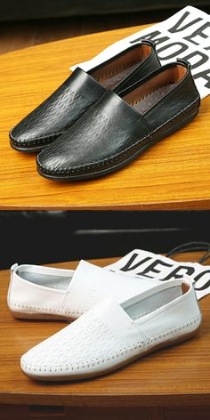 >> Click to Buy << Prelesty Big Size 38-47 Men Genuine Leather Shoes Slip On Real Leather Loafers Mens Moccasins Shoes Male Soft Sapatos