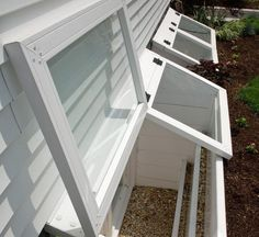Basement Windows with Egress Window Wells