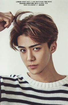 Sehun - 141219 2015 Season's Greetings official photocard - [SCAN][HQ] Credit: Moonhalo.