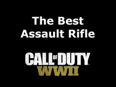 The Best Assault Rifle Gun Call of Duty: WW2 -  The best rifle in Call of Duty: WW2 has got to be a versatile weapon that is powerful at medium range and should be able to compete with submachine guns at close range. The Bar rifle is a strong candidate as it has a low time to kill, has good range and is easy to use. However, at close range... - http://www.freetoplaymmorpgs.com/call-of-duty-wwii/the-best-assault-rifle-gun-call-of-duty-ww2/