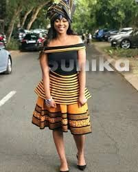 Modern Xhosa Traditional Dresses Latest Designs - Sunika Traditional African Clothes Zulu Traditional Attire, South African Traditional Dresses, Traditional Outfits, Xhosa Attire, African Attire, African Outfits, African Wear, African Fashion Ankara, Latest African Fashion Dresses