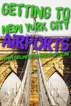 The fastest ways to get to and from New York City airports like LaGuardia, Newark, and JFK.