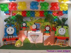 Thomas e seus amigos - Muita Festa Decorações